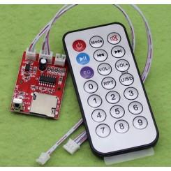 ماژول mp3 پلیر همراه با ریموت کنترلر
