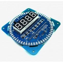 ماژول ساعت DS1302 با قابلیت کنترل مد کاری و نمایش تاریخ / ساعت / دما