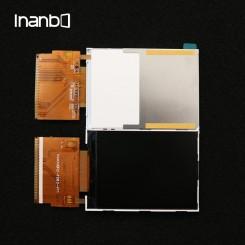 "LCD رنگی ""2.8 TFT به همراه تاچ"