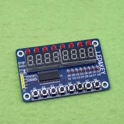 ماژول سون سگمنت 8 رقمی دارای درایور TM1638