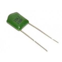 خازن پلی استر 100nF-100V