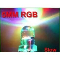ال ای دی 5mm دو پایه هفت رنگ سرعت پایین