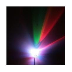 ال ای دی 5mm دو پایه هفت رنگ سرعت بالا