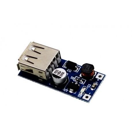ماژول مبدل و تقویت کننده 5v به 0.9v-5v - ماژول USB DC-DC STEP-UP 600MA