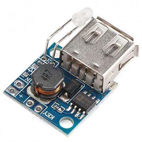ماژول افزاینده 2 آمپر با خروجی USB DC-DC STEP-UP 2A - 5V