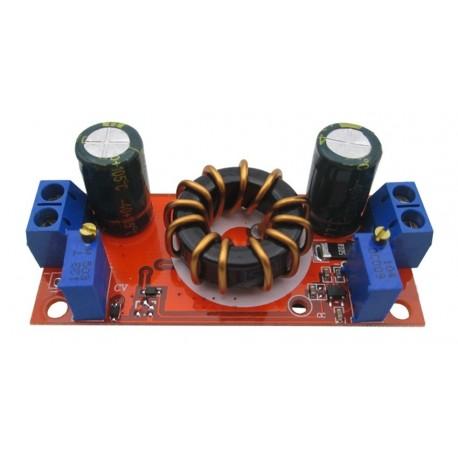ماژول کاهنده 10 آمپر با قابلیت کنترل جریان و ولتاژ خروجی