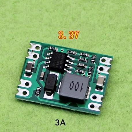 ماژول DC-DC کاهنده MP1584 با ولتاژ خروجی ثابت 3.3 ولت