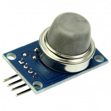 ماژول سنسور تشخیص دود و گاز MQ-2 ( هیدروژن-الکل-متان-بوتان-LPGو ... )