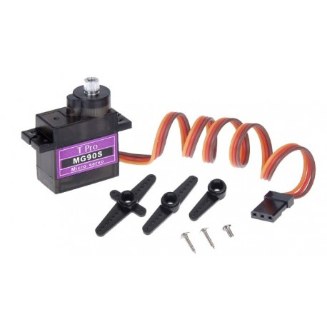 سروو موتور دنده فلزی mg90s - میکرو سروو mg90s - موتور سروو Tower Pro Metal gear servo mg90s