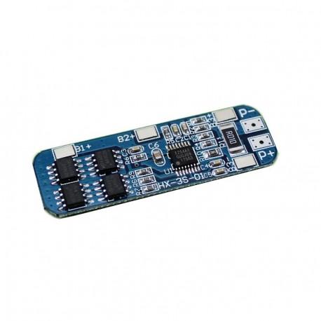 مدار محافظ و کنترل شارژ باتری لیتیومی(3 سل)