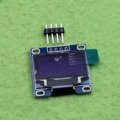 ماژول نمایشگر 128*64 OLED دارای ارتباط I2C با ابعاد 0.96 اینچ