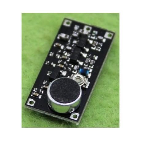 ماژول فرستنده رادیویی باند FM دارای میکروفون ( فرستنده صدا)