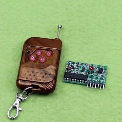 ماژول ریموت فرستنده گیرنده چهار کاناله PT2262 / PT2272