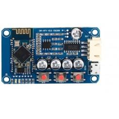 ماژول گیرنده بلوتوث صوتی به همراه آمپلی فایر و کلیدهای کنترلی