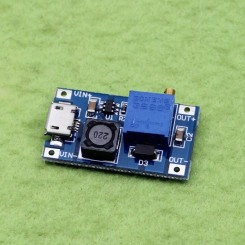 ماژول افزاینده DC به DC دارای ورودی میکرو USB