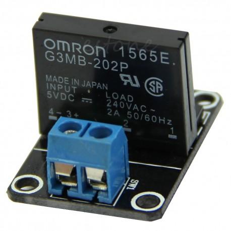 ماژول رله 5 ولت یک کاناله OMRON SSR