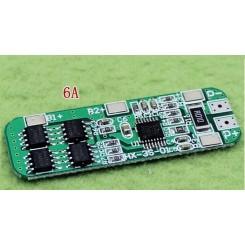 مدار محافظ و کنترل شارژ باتری لیتیومی 3 سل 6 آمپر