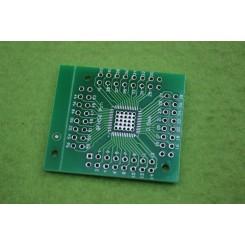 برد دو لایه تبدیل SMD به DIP ویژه پکیج هایQFN56 QFN64