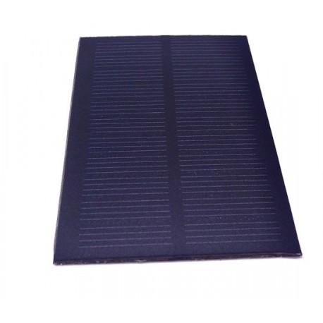 پنل خورشیدی5.5 ولت 120میلی آمپر