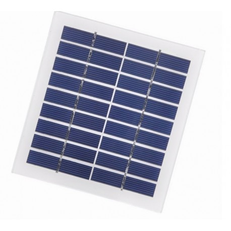 پنل خورشیدی 9 ولت 220 میلی آمپر