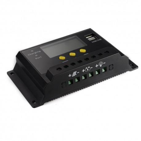 کنترل کننده PWM هوشمند صفحات خورشیدی و شارژر باتری های اسیدی