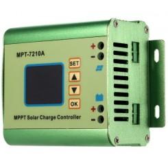 کنترلر MPPT صفحات خورشیدی با قابلیت شارژ باتری