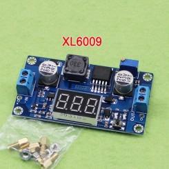 مبدل افزاینده DC به DC متغیر 4 آمپر XL6009 با نمایشگر
