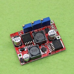 ماژول DC-DC افزاینده/ کاهنده اتوماتیک با قابلیت کنترل جریان خروجی مناسب برای صفحه های خورشیدی