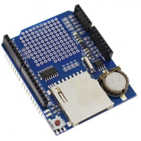 شیلد دیتا لاگر آردوینو Arduino Data Logging Shield