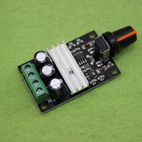 ماژول کنترل دور موتور DC - دارای ولتاژ DC 6-28V و جریان 3 آمپر