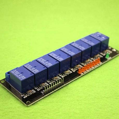 ماژول رله 5 ولت هشت کاناله با نشانگر LED