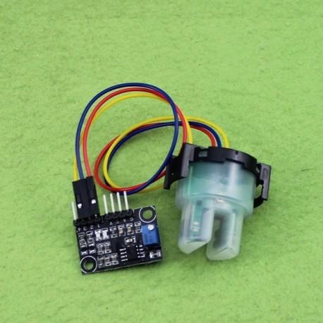 سنسور تشخیص آلودگی ( کدری ) آب همراه با ماژول راه انداز