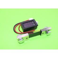 ماژول نمایشگر دیجیتال ولتاژ و جریان 100V /100A DC