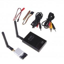 پک فرستنده و گیرنده بیسیم صوت و تصویر FPV 5.8G 200mW - مدل TS351+ RC805