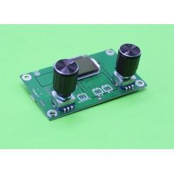 ماژول گیرنده رادیو موج FM دارای نمایشگر- ولوم کنترلی -ورودی usb و ارتباط سریال