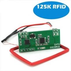 ماژول ریدر RFID RDM6300 دارای فرکانس 125 کیلوهرتز و خروجی سریال