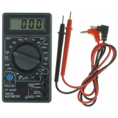 مولتی متر دیجیتالی DT-830D