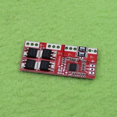 مدار محافظ و کنترل شارژ باتری لیتیومی سه سل 30 آمپر