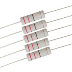 رنج پرکاربرد مقاومت های 2 وات - 20 رنح بسته10 تایی