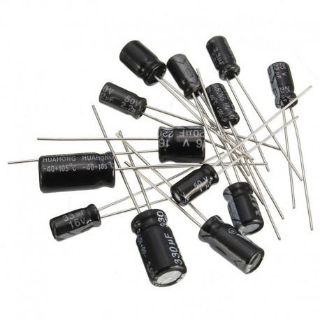 رنج پرکاربرد خازن الکترولیتی 12 رنح بسته10 تایی
