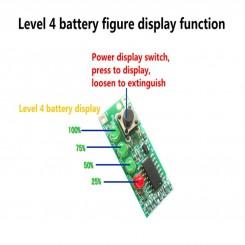 نشانگر مقدار شارژ باتری 3 سل لیتیومی