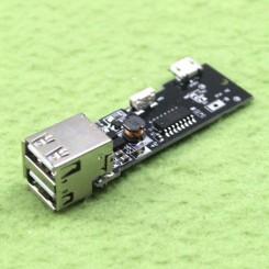 ماژول شارژر / دشارژر باتری لیتیومی دارای 2 خروجی مناسب برای ساخت پاوربانک