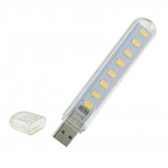 ماژول چراغ LED هشت تایی USB دارای قاب محافظ