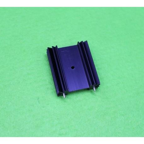 هیت سینک پروانه ای مشکی 3.5x4.0x1.5