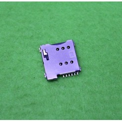 سوکت سیم کارت اتوماتیک 6 پین Simcard Socket