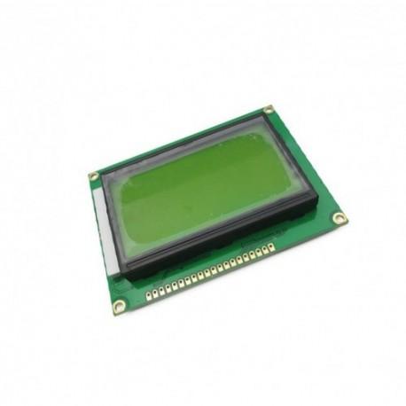 نمایشگر GLCD 64*128 گرافیکی بک لایت آبی با درایور ST7920