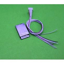 مدار محافظ و کنترل شارژ باتری لیتیومی 10 سل 15 آمپر