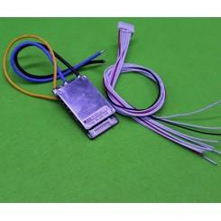 مدار محافظ و کنترل شارژ باتری لیتیومی 10 سل 22 آمپر