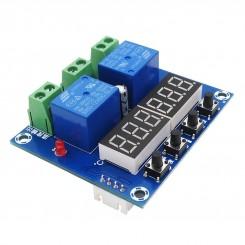 ماژول کنترلر دما و رطوبت دیجیتال XH-M452 دارای نمایشگر و کلیدهای کنترلی