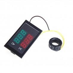 ماژول نمایشگر دیجیتال ولتاژ و جریان 300V / 100A ac